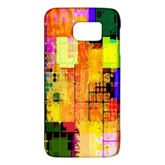 Abstract Squares Background Pattern Galaxy S6