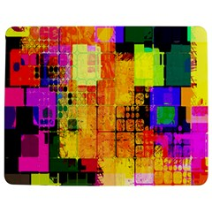 Abstract Squares Background Pattern Jigsaw Puzzle Photo Stand (Rectangular)