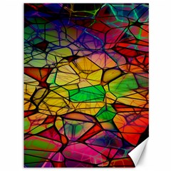 Abstract Squares Triangle Polygon Canvas 36  x 48
