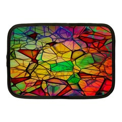 Abstract Squares Triangle Polygon Netbook Case (Medium)