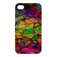 Abstract Squares Triangle Polygon Apple iPhone 4/4S Hardshell Case