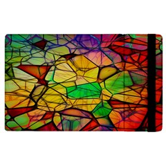 Abstract Squares Triangle Polygon Apple Ipad 3/4 Flip Case
