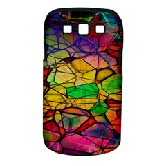 Abstract Squares Triangle Polygon Samsung Galaxy S III Classic Hardshell Case (PC+Silicone)