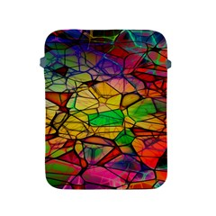 Abstract Squares Triangle Polygon Apple iPad 2/3/4 Protective Soft Cases