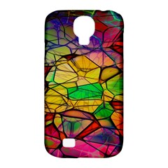 Abstract Squares Triangle Polygon Samsung Galaxy S4 Classic Hardshell Case (PC+Silicone)