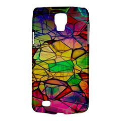 Abstract Squares Triangle Polygon Galaxy S4 Active