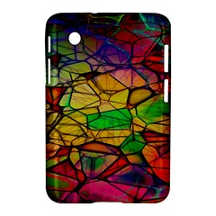 Abstract Squares Triangle Polygon Samsung Galaxy Tab 2 (7 ) P3100 Hardshell Case