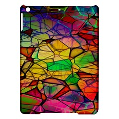 Abstract Squares Triangle Polygon Ipad Air Hardshell Cases