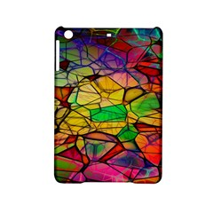 Abstract Squares Triangle Polygon iPad Mini 2 Hardshell Cases
