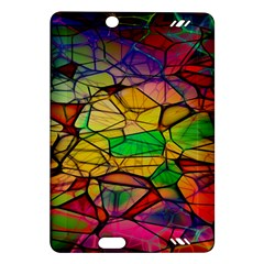 Abstract Squares Triangle Polygon Amazon Kindle Fire Hd (2013) Hardshell Case