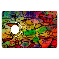 Abstract Squares Triangle Polygon Kindle Fire Hdx Flip 360 Case