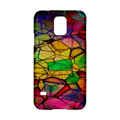 Abstract Squares Triangle Polygon Samsung Galaxy S5 Hardshell Case