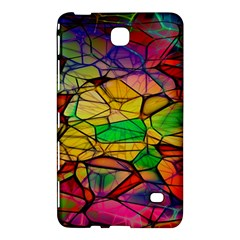 Abstract Squares Triangle Polygon Samsung Galaxy Tab 4 (7 ) Hardshell Case