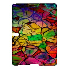 Abstract Squares Triangle Polygon Samsung Galaxy Tab S (10 5 ) Hardshell Case
