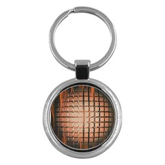 Abstract Texture Background Pattern Key Chains (Round)