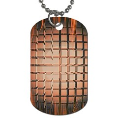 Abstract Texture Background Pattern Dog Tag (One Side)