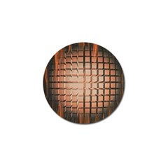 Abstract Texture Background Pattern Golf Ball Marker