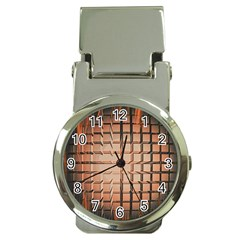 Abstract Texture Background Pattern Money Clip Watches