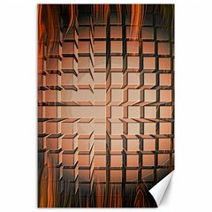 Abstract Texture Background Pattern Canvas 24  x 36