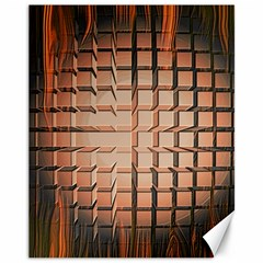 Abstract Texture Background Pattern Canvas 11  X 14