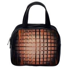 Abstract Texture Background Pattern Classic Handbags (one Side)