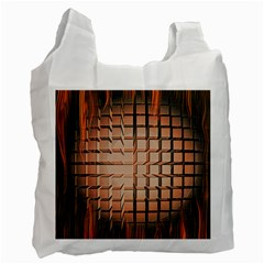 Abstract Texture Background Pattern Recycle Bag (One Side)