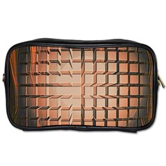 Abstract Texture Background Pattern Toiletries Bags