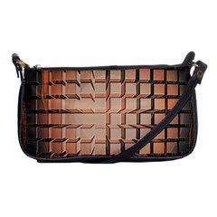 Abstract Texture Background Pattern Shoulder Clutch Bags