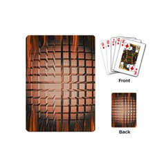 Abstract Texture Background Pattern Playing Cards (Mini)