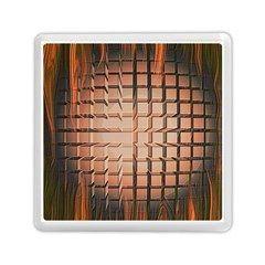 Abstract Texture Background Pattern Memory Card Reader (Square)