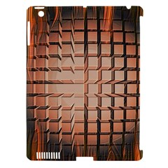 Abstract Texture Background Pattern Apple iPad 3/4 Hardshell Case (Compatible with Smart Cover)