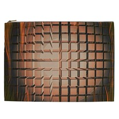 Abstract Texture Background Pattern Cosmetic Bag (xxl)