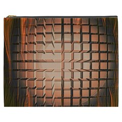 Abstract Texture Background Pattern Cosmetic Bag (XXXL)