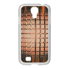 Abstract Texture Background Pattern Samsung Galaxy S4 I9500/ I9505 Case (white)