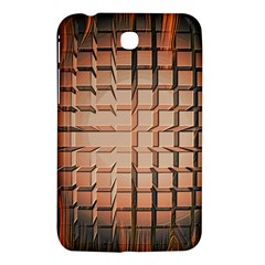 Abstract Texture Background Pattern Samsung Galaxy Tab 3 (7 ) P3200 Hardshell Case