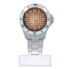 Abstract Texture Background Pattern Plastic Nurses Watch