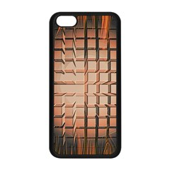 Abstract Texture Background Pattern Apple iPhone 5C Seamless Case (Black)