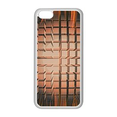 Abstract Texture Background Pattern Apple iPhone 5C Seamless Case (White)