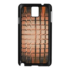 Abstract Texture Background Pattern Samsung Galaxy Note 3 N9005 Case (black)