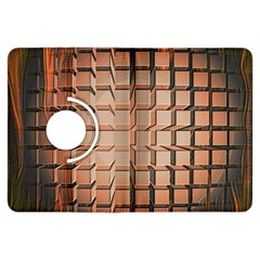 Abstract Texture Background Pattern Kindle Fire HDX Flip 360 Case