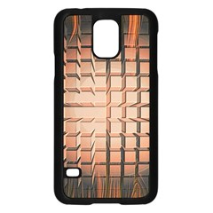 Abstract Texture Background Pattern Samsung Galaxy S5 Case (black)