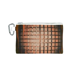 Abstract Texture Background Pattern Canvas Cosmetic Bag (s)