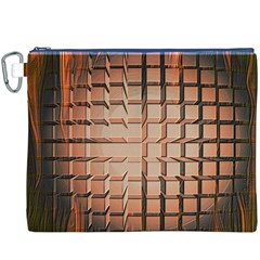 Abstract Texture Background Pattern Canvas Cosmetic Bag (XXXL)