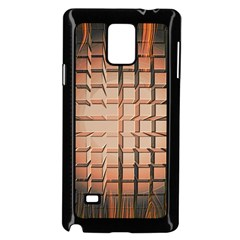 Abstract Texture Background Pattern Samsung Galaxy Note 4 Case (black)