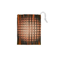 Abstract Texture Background Pattern Drawstring Pouches (xs)