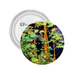Abstract Trees Flowers Landscape 2.25  Buttons