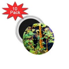 Abstract Trees Flowers Landscape 1.75  Magnets (10 pack)