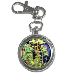 Abstract Trees Flowers Landscape Key Chain Watches