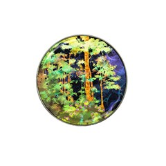 Abstract Trees Flowers Landscape Hat Clip Ball Marker (4 Pack)