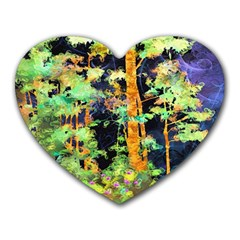 Abstract Trees Flowers Landscape Heart Mousepads